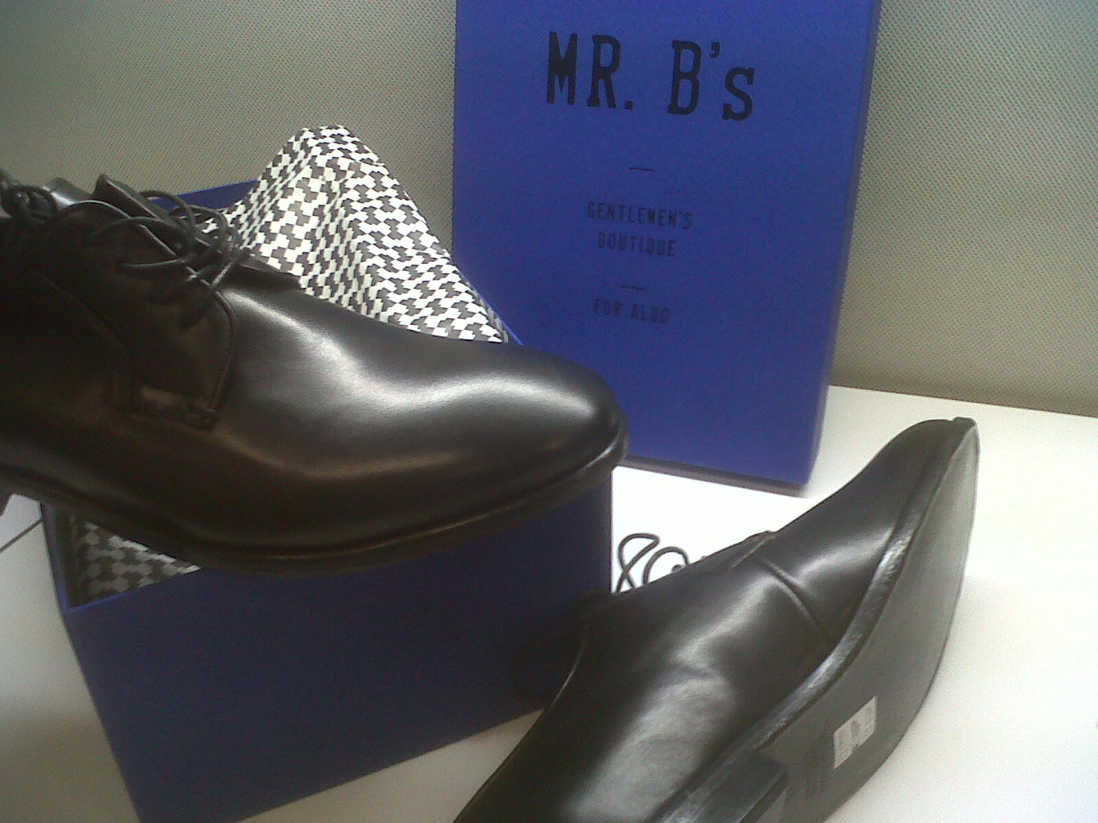 Mr. B's Oxfords