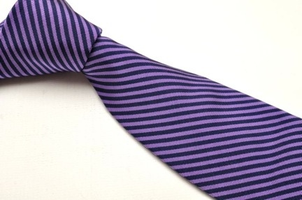 purple with navy stripes
