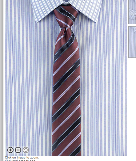 dull red w/navy, light blue and lavender stripes