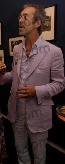 Yann Debelle de Montby Pink Suit