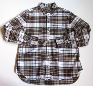 gitman multicolor plaid