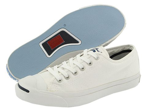 Jack Purcell - White/White
