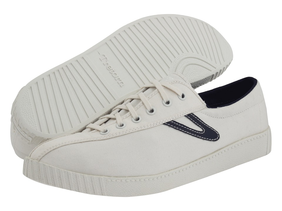 Tretorn Nylite Canvas - White/Peacoat Navy 2