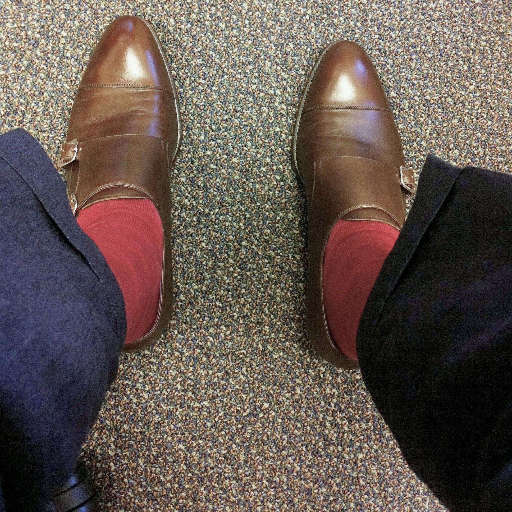 Rocking socks, 5/7/2012