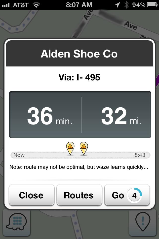 Alden Route