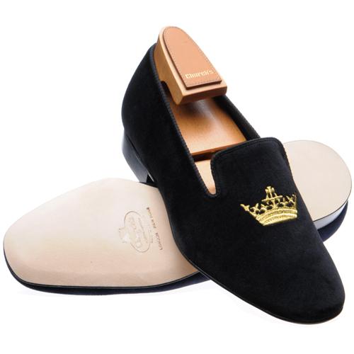 velvet slippers embroidered churchs crown black.jpg