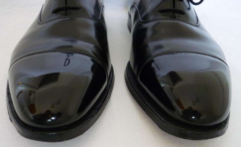 Mirror Shine Leather Shoes