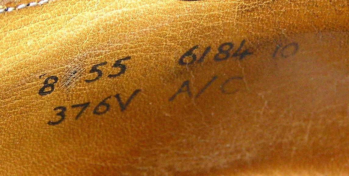 Lloyd & Haig Custom Built black cap-toe oxfords - markings 1.jpg