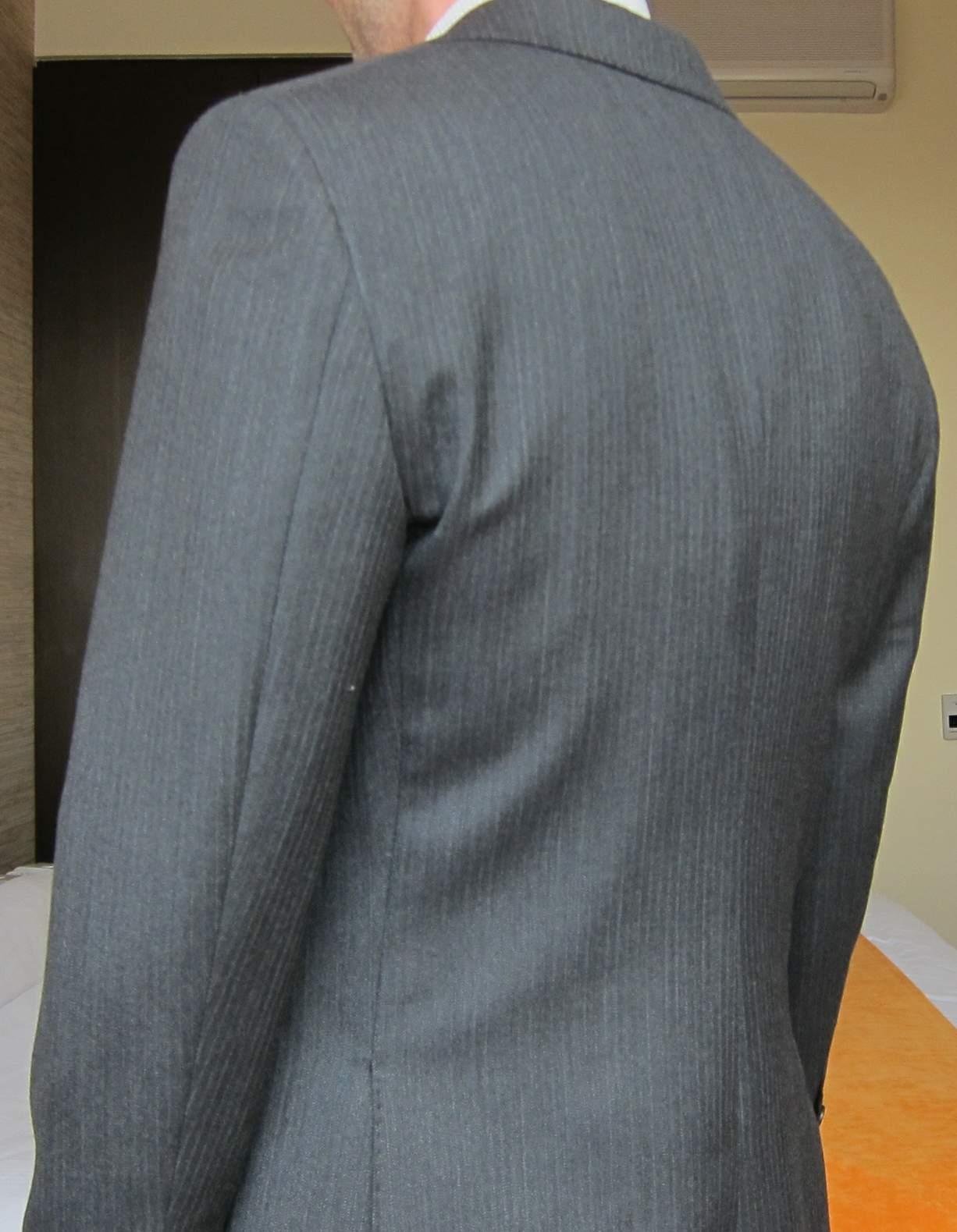 left rear side