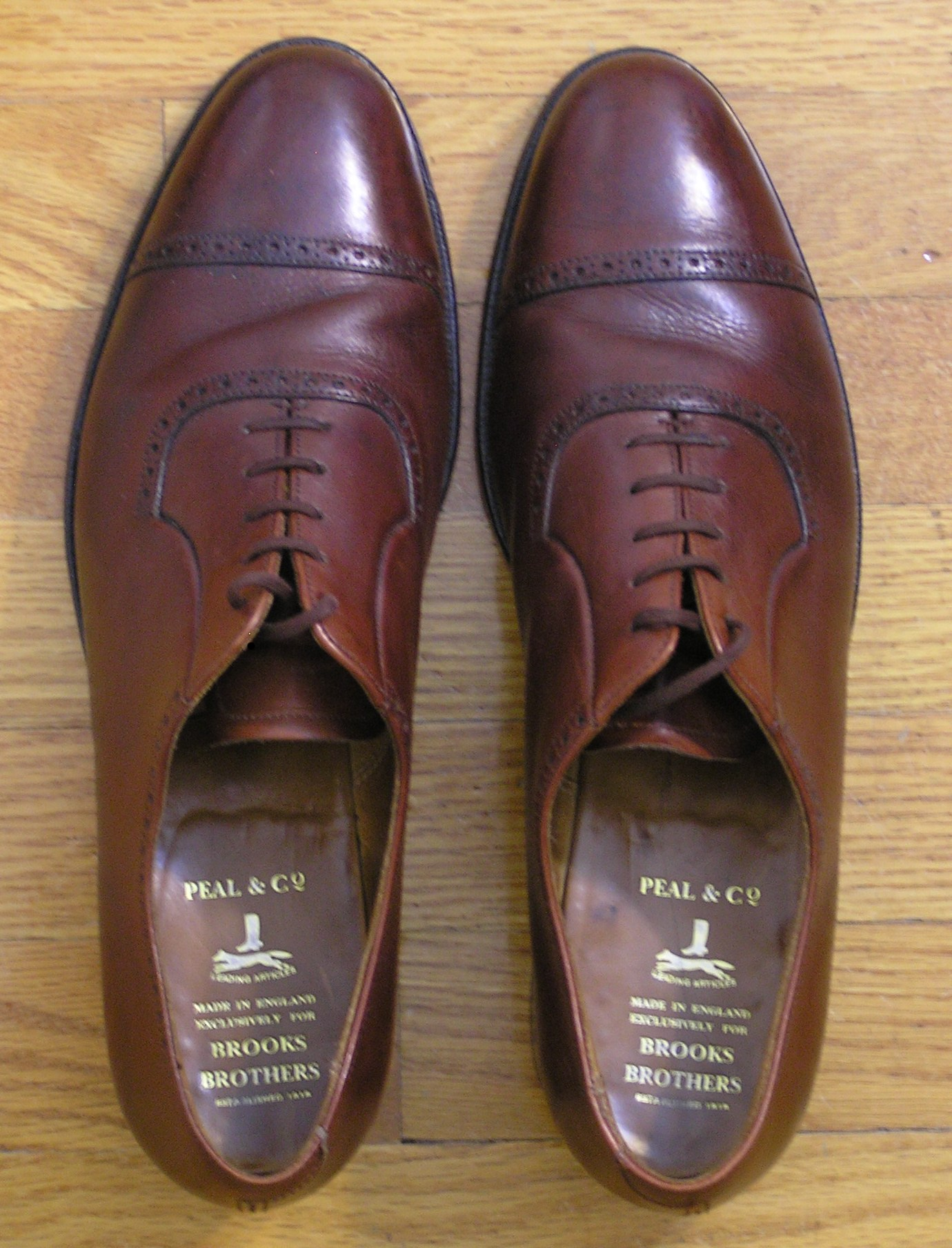 Brooks English - Peal - quarter-brogued oxfords - (1)a.JPG