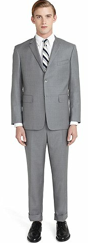 Grey Classic Suit Brooks Brothers.png