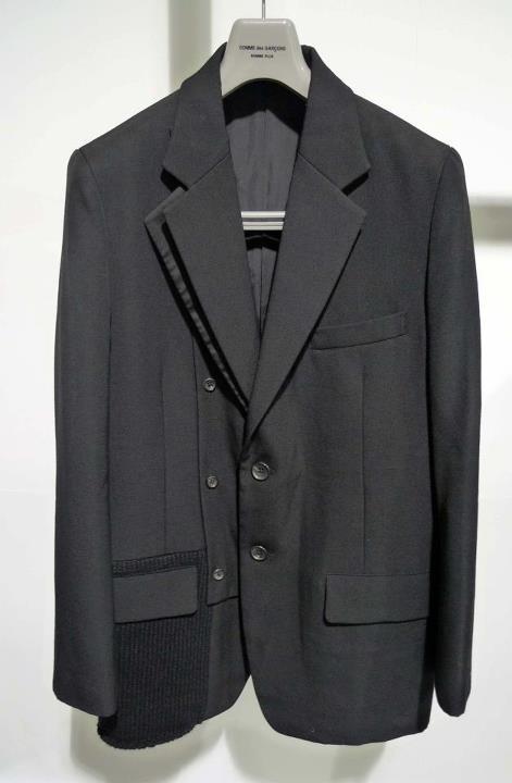 YYPH AW07 knit insert blazer.jpeg