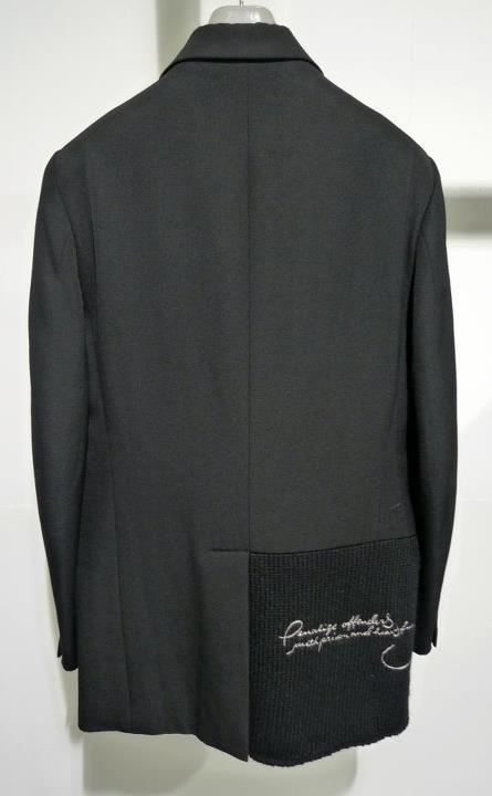 YYPH AW07 knit insert blazer II.jpeg