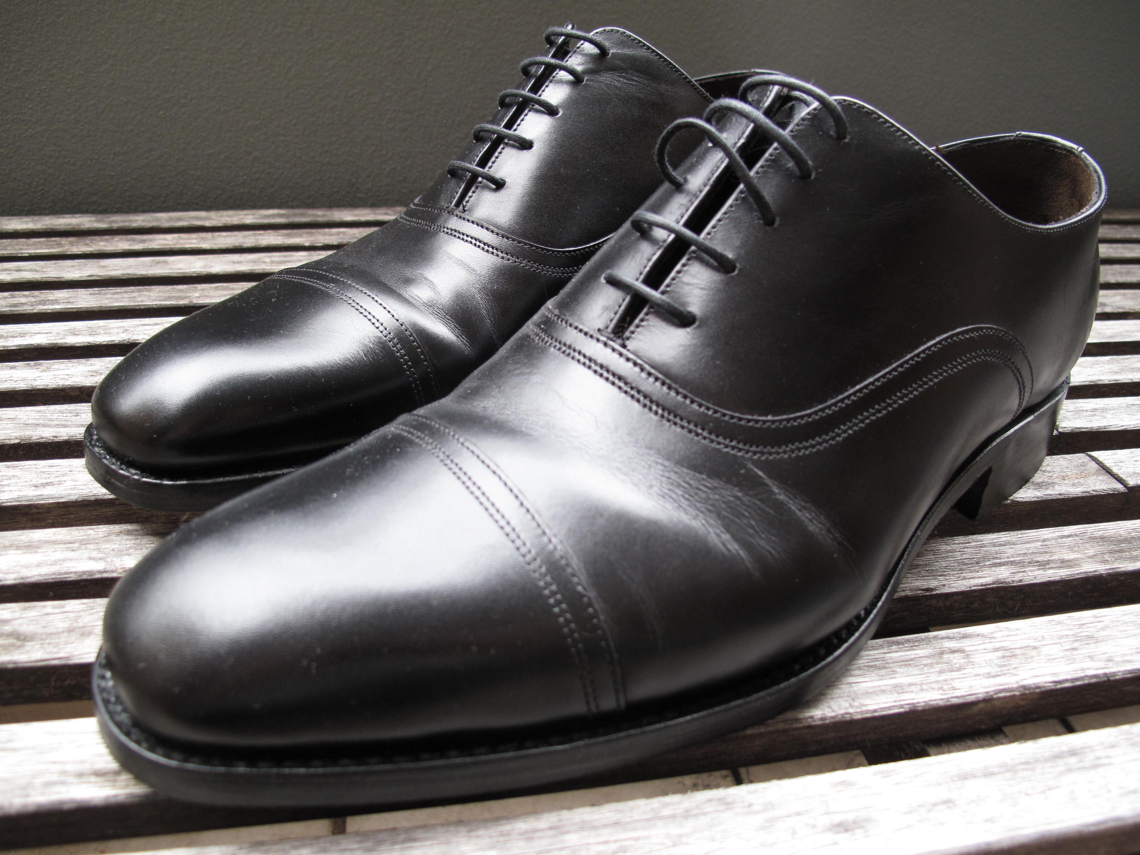 c37b265b251 Barker Goodrich Shoe in Black Calf http   www.ebay.com.au itm 200795778952