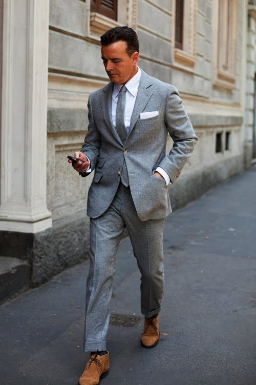 10 suit wardrobe | Styleforum