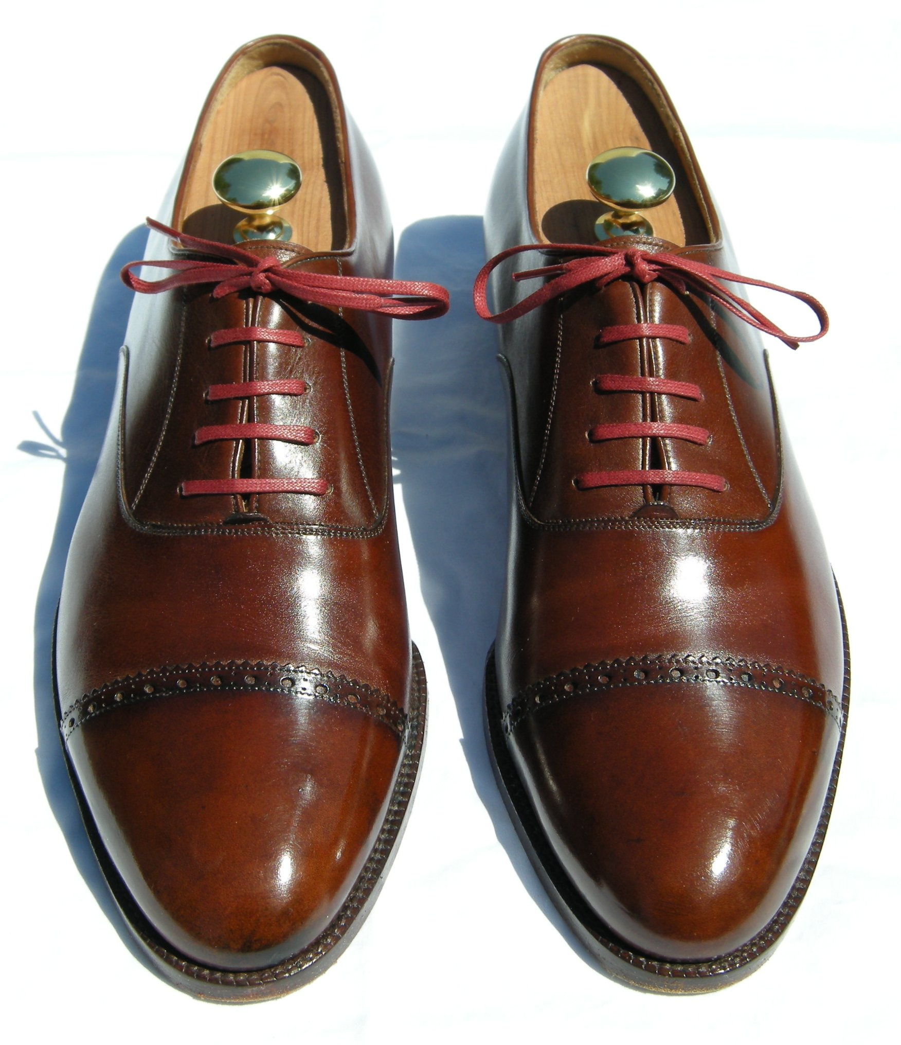 What's the opinion on colored shoe laces for dress shoes? | Styleforum