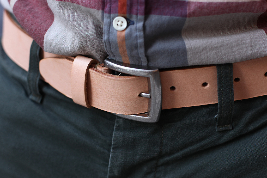quality leather unfinished belts