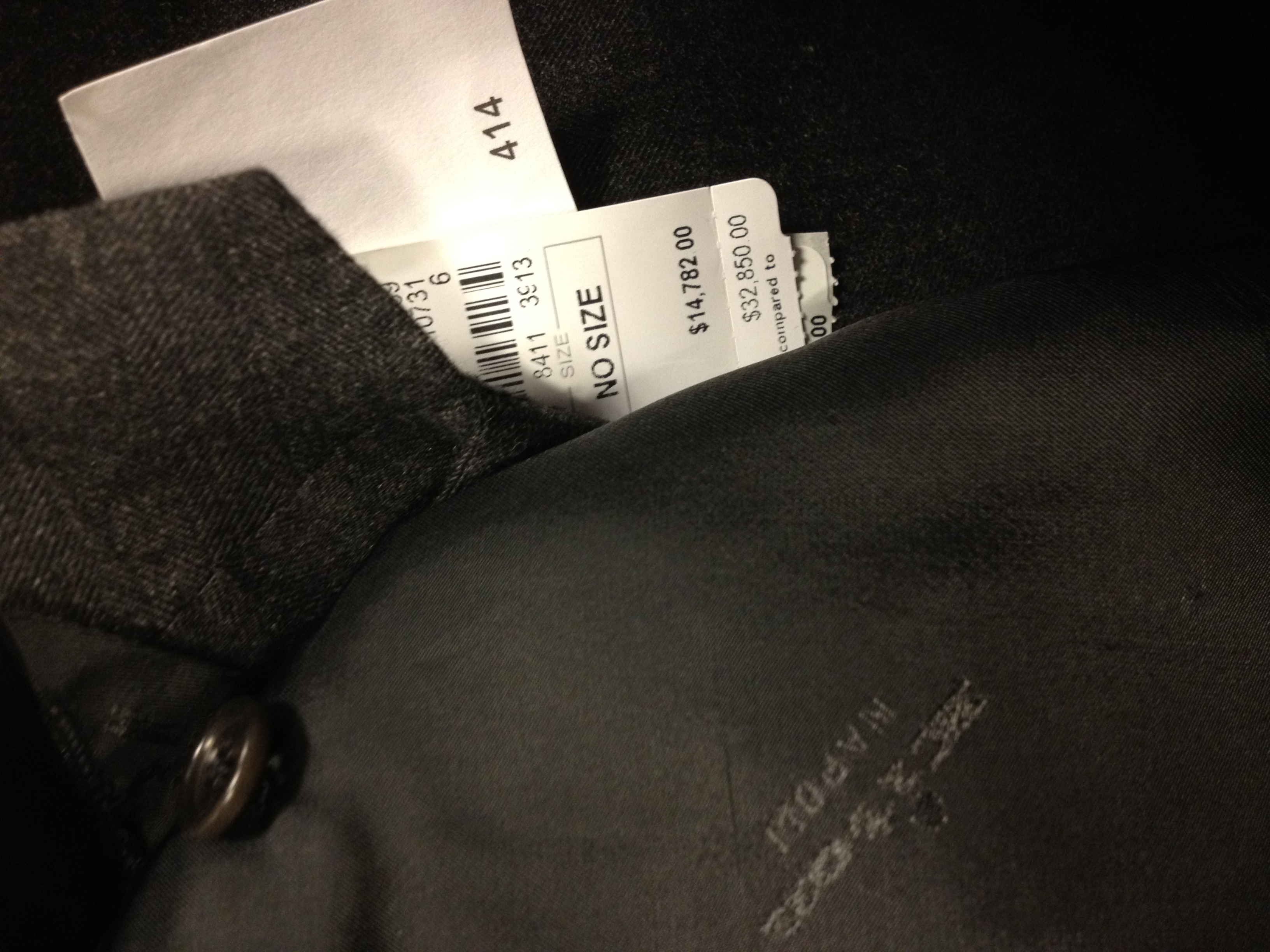 Image result for suits price tag