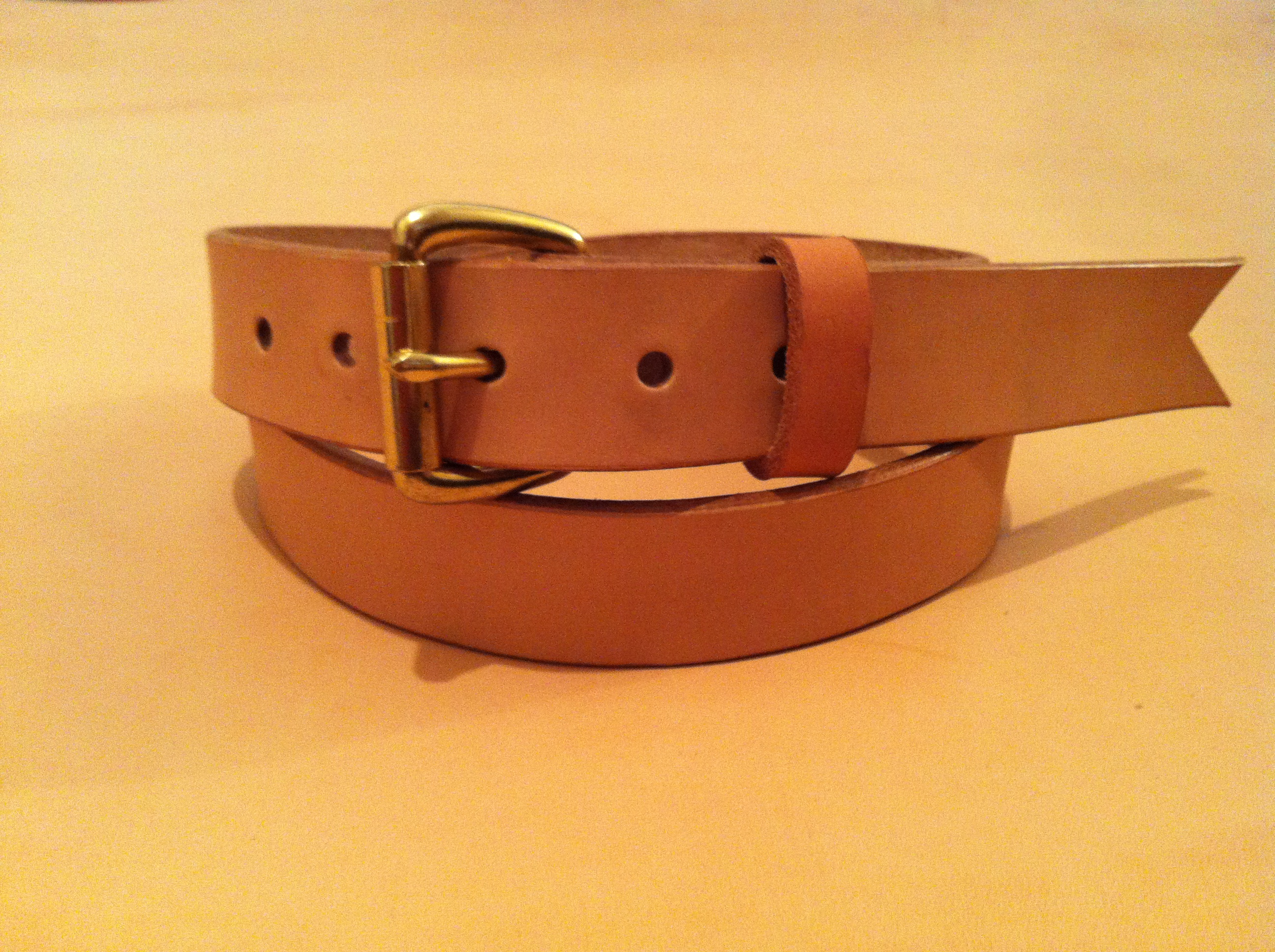 quality leather unfinished belts page 2