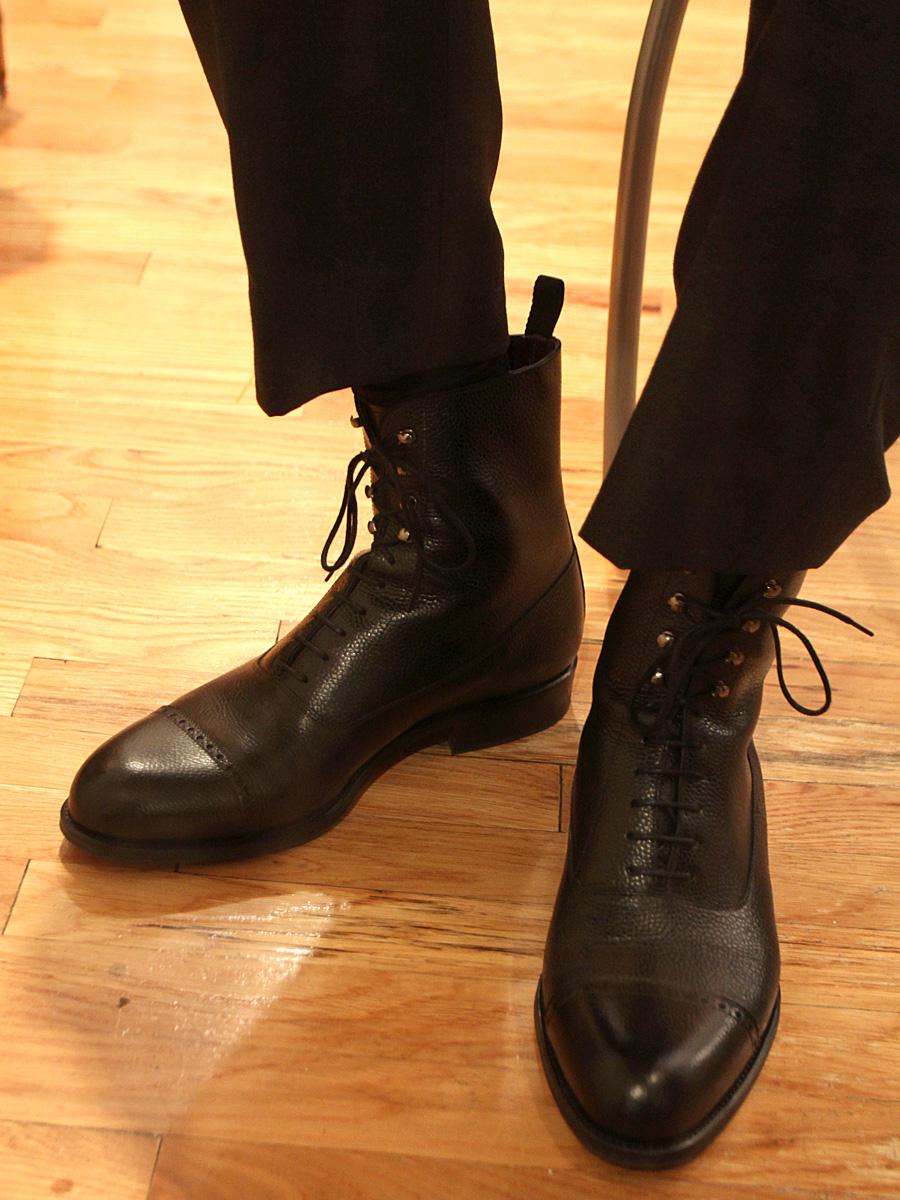 Epaulet X Carmina Scotchgrain Bal Boots MTO