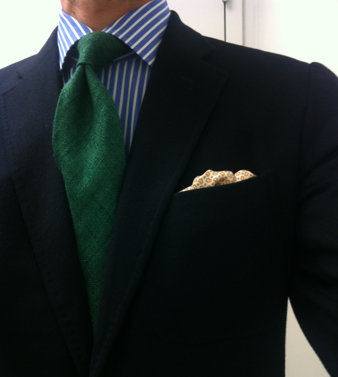 Dimple In The Tie For Business Meetings Styleforum
