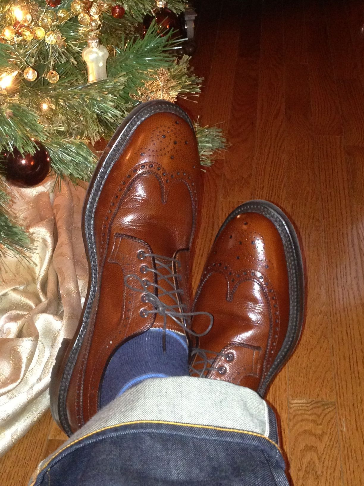 Alden LWB, Barrie Last, Commando Sole. From Alden of DC.
