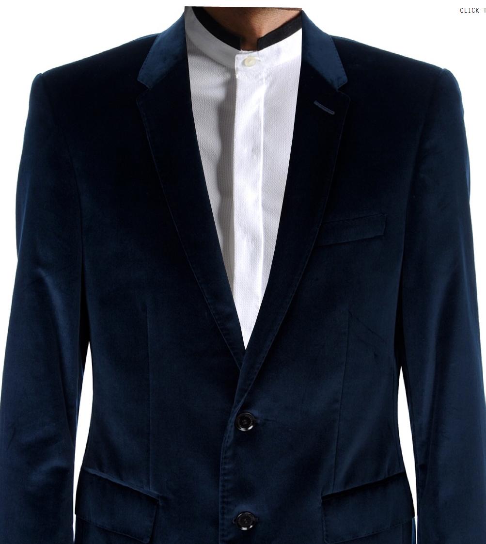 Advice: Velvet Blazer Outfit