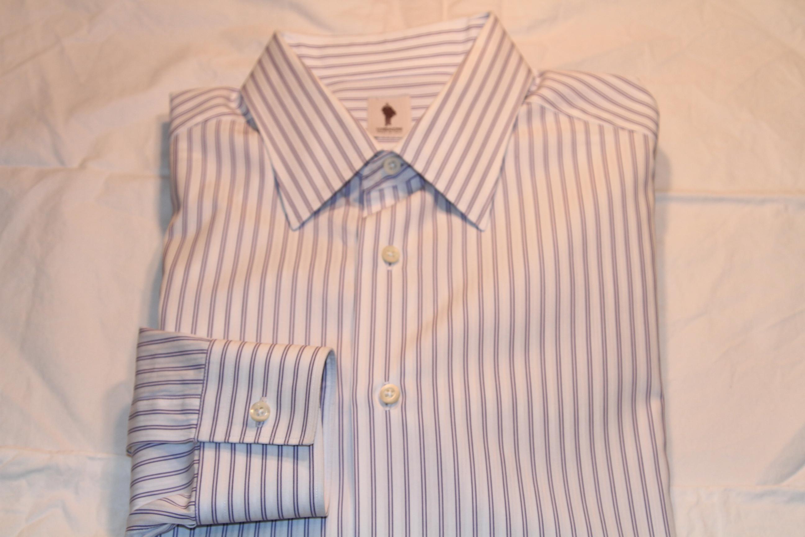 #21 - Lorenzini 41/16 White with Purple Stripe