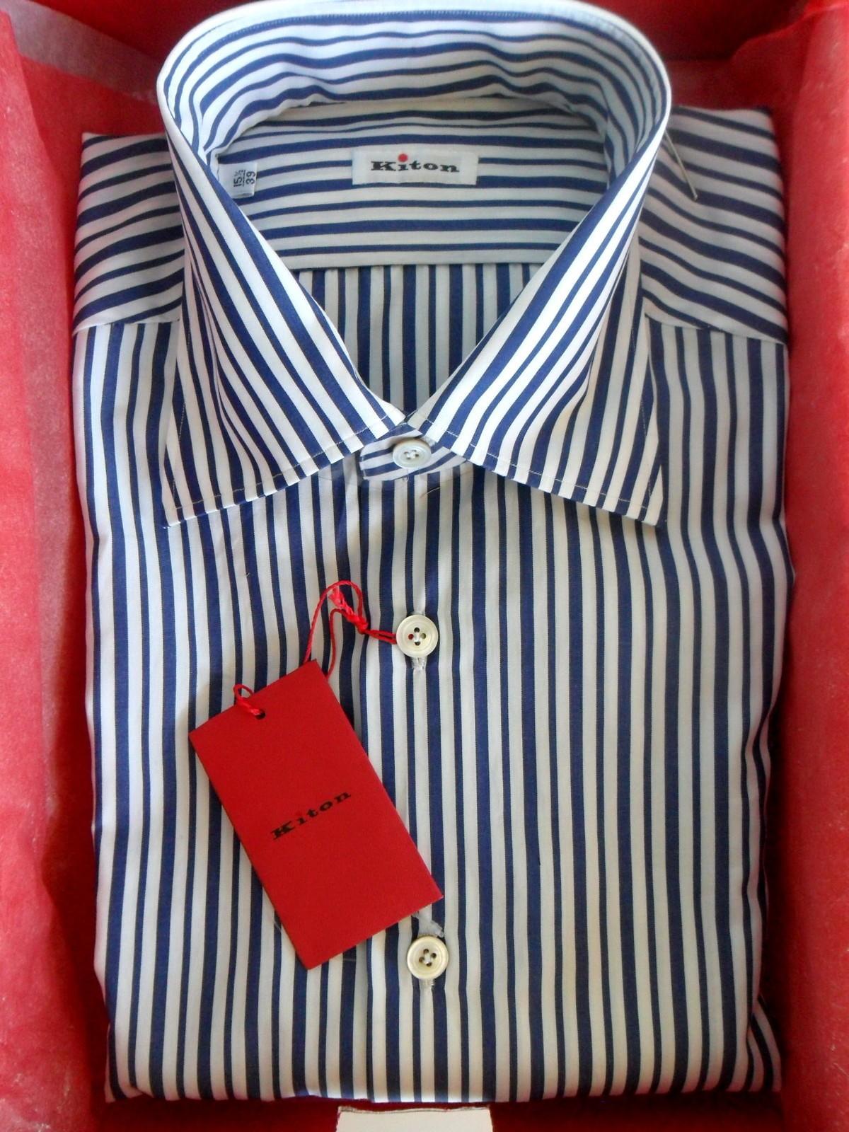 Kiton Dress Shirt Without Collar Stays Styleforum