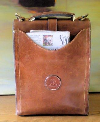 leather vertical messenger bag pwgFaEv9