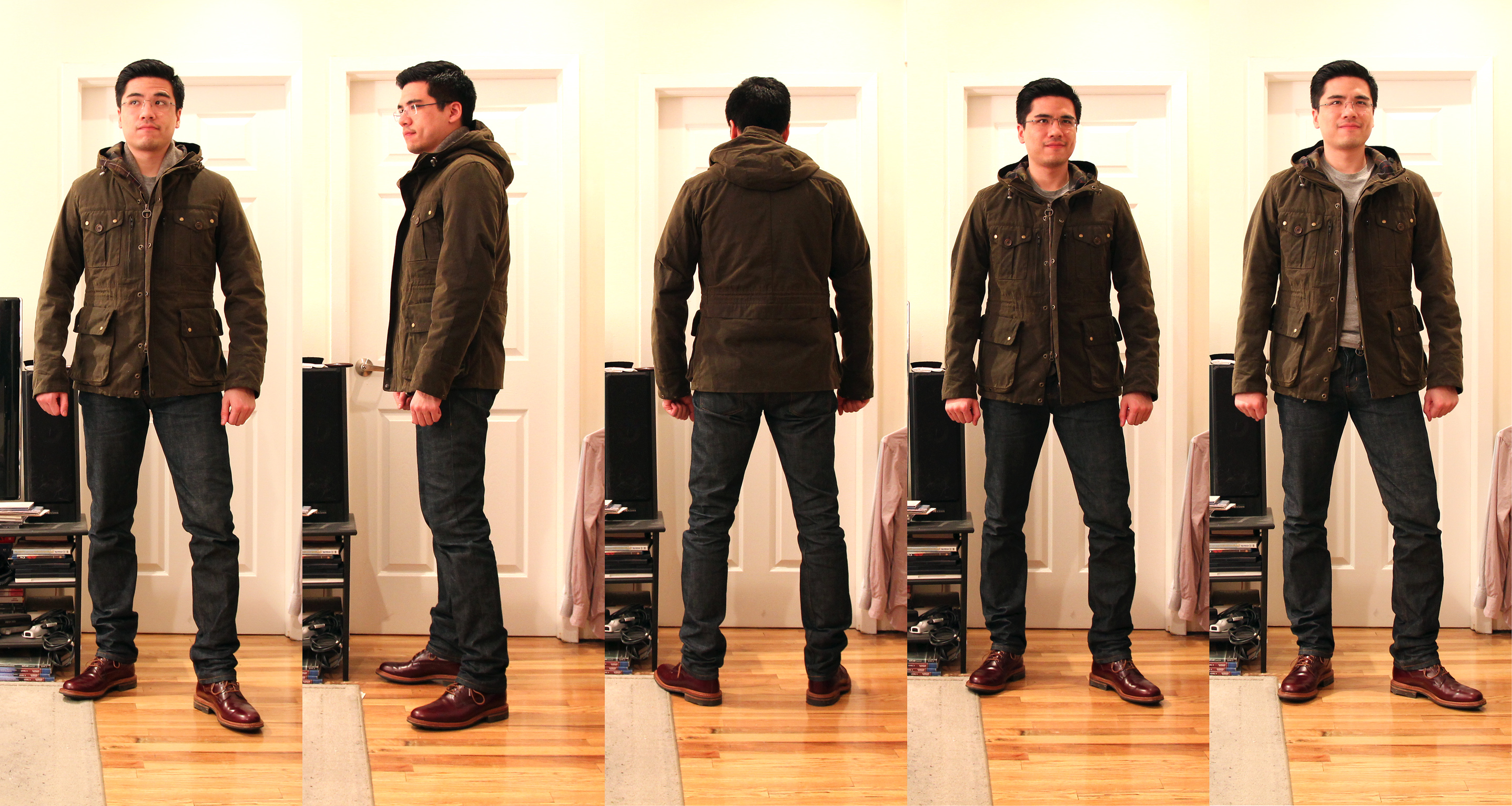 Barbour Mountain Parka after taper