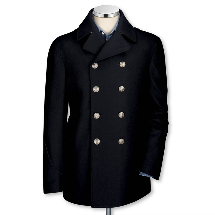 Replace Buttons on Navy Peacoat | Styleforum