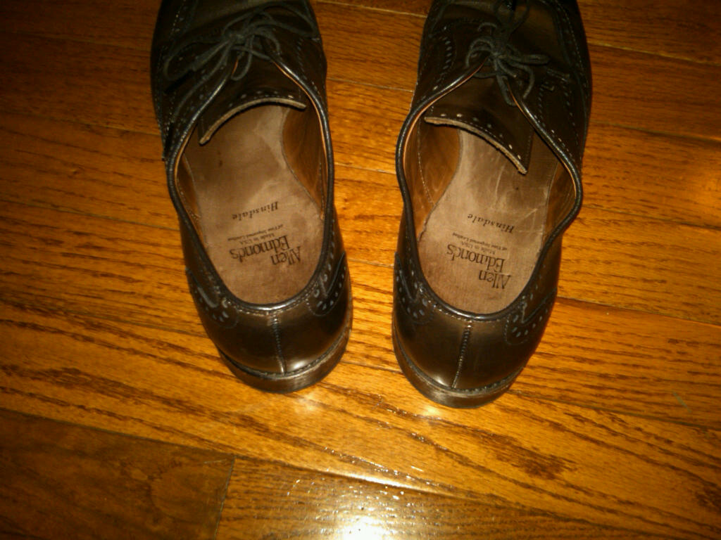 avoid buying allen edmonds seconds shoes or ae shoes from