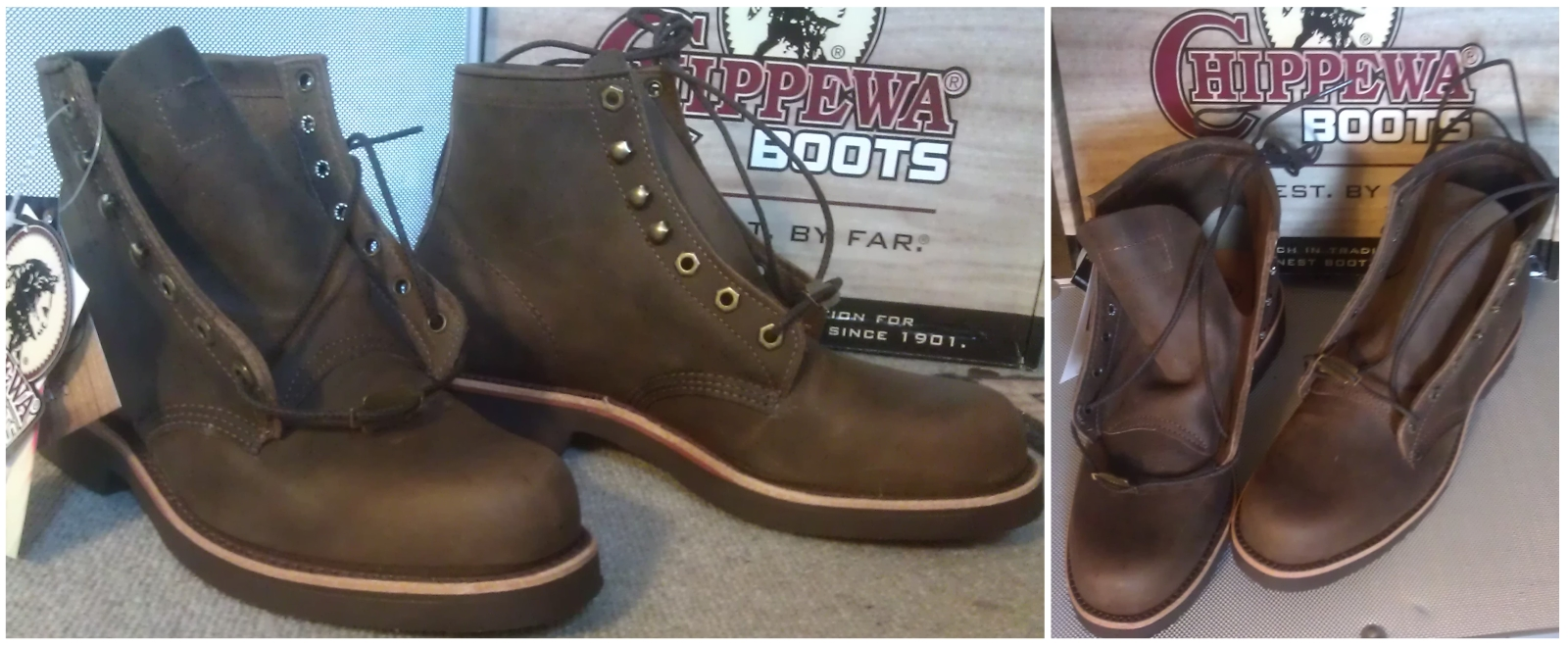 "Chippewa 20065 ""GQ"" Boot in ""Apache Chocolate"", just unboxed"