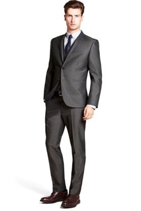 Shirt/Tie combo for a charcoal suit? | Styleforum