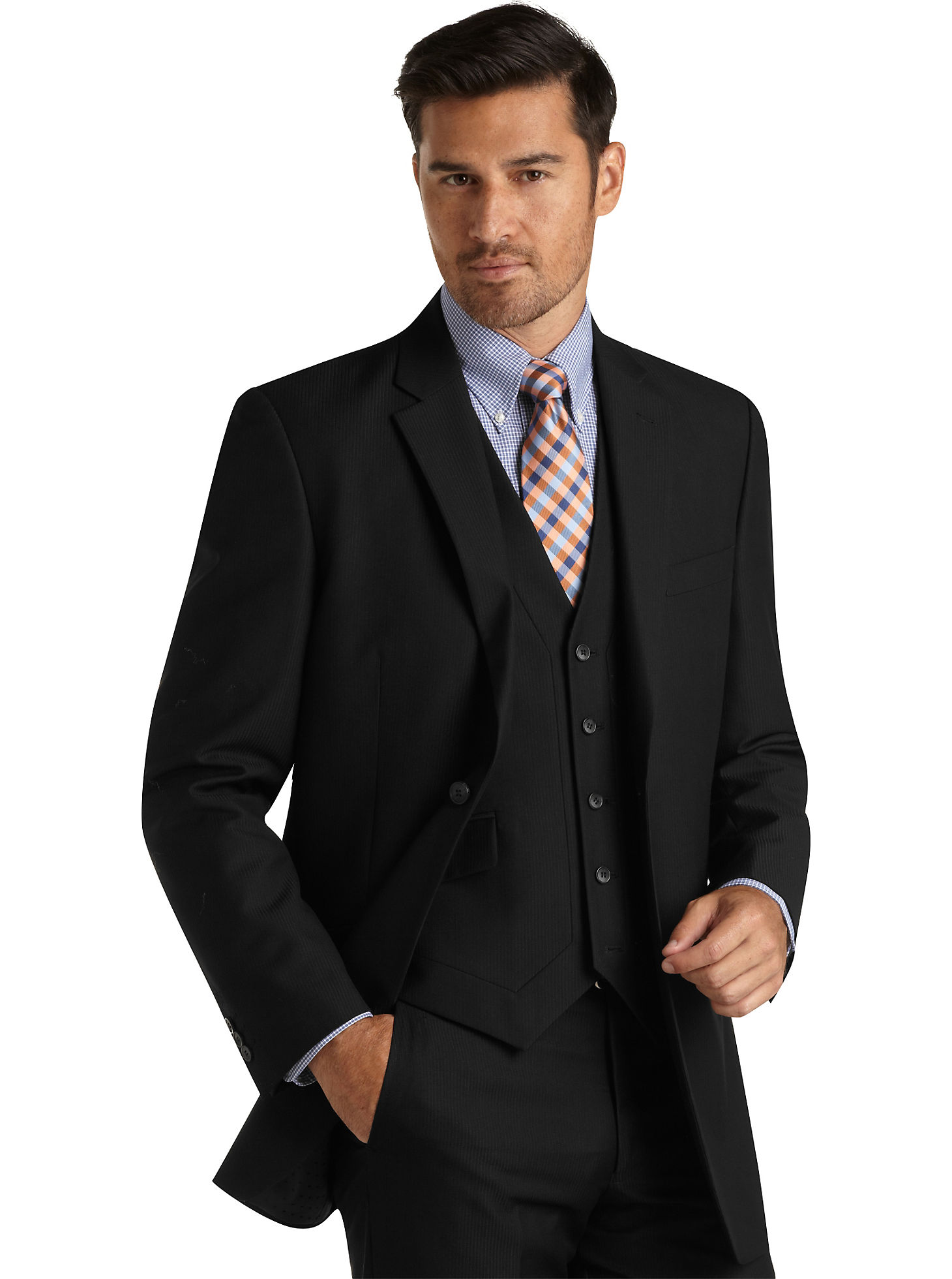 Buy 1 Suit, Suit Separates Package, or Sport Coat, and get 1 Suit, Suit Separates Package, or Sport Coat FREE. Purchased item must be at regular price. Free item must of equal or lesser value. Suit Separates Package must include coat. Excludes custom suits.