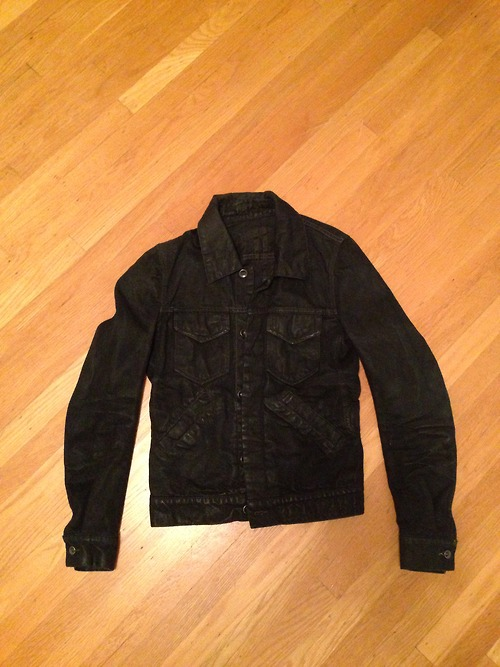 PRICE DROP *** XS Size 34 Outerwear Sale: DRKSHDW Black Denim ...