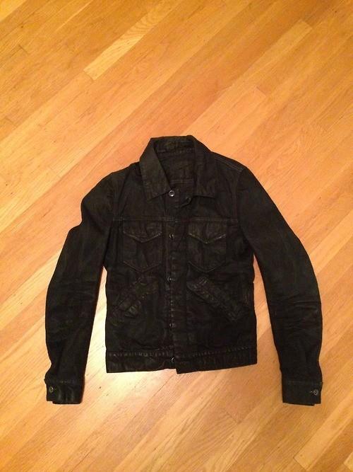 PRICE DROP *** XS Size 34 Outerwear Sale: DRKSHDW Black Denim Jacket