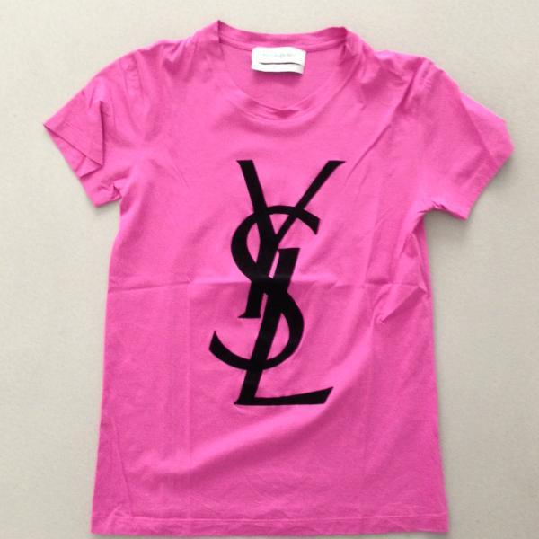68ca1dafb874 Is this YSL logo T-shirt fake !