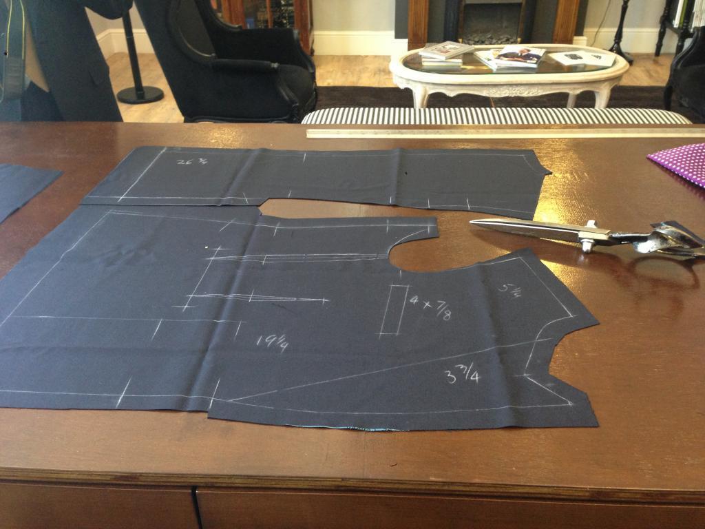 Mens jacket pattern making -  Img