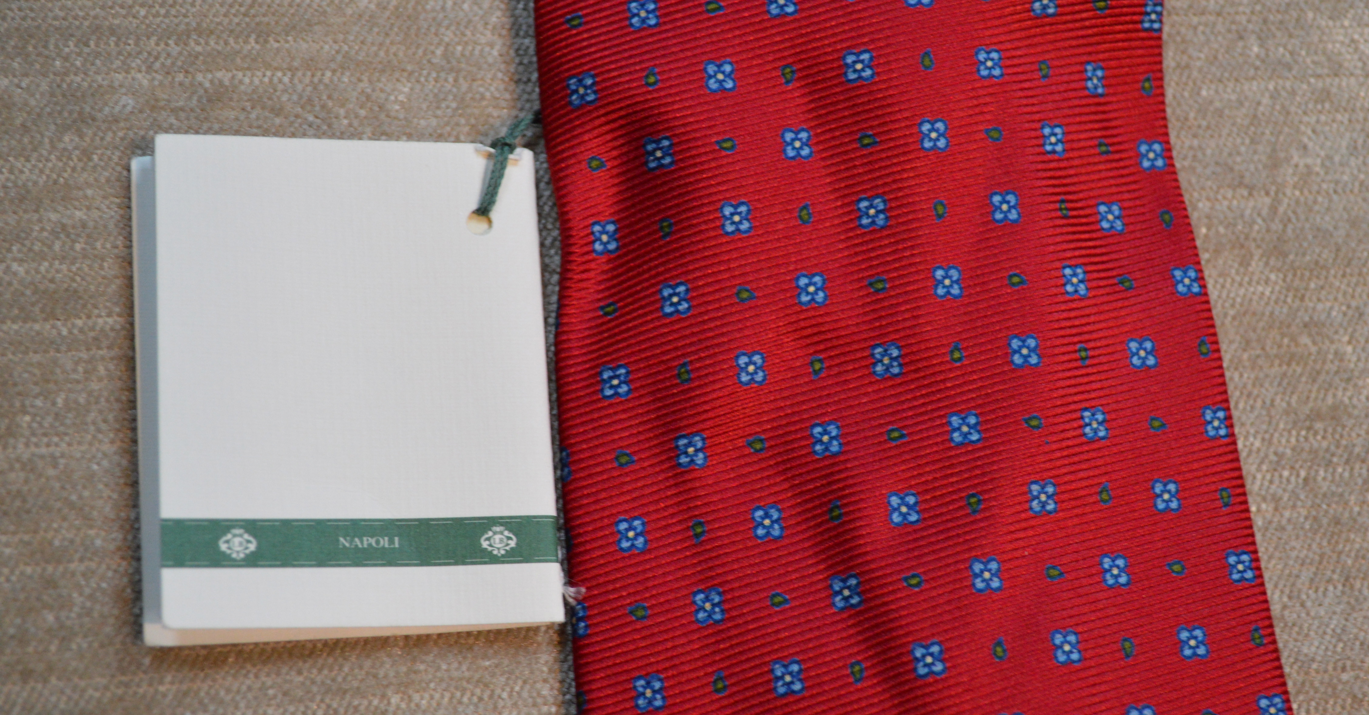 Borrelli - 100% Silk - Seven Fold