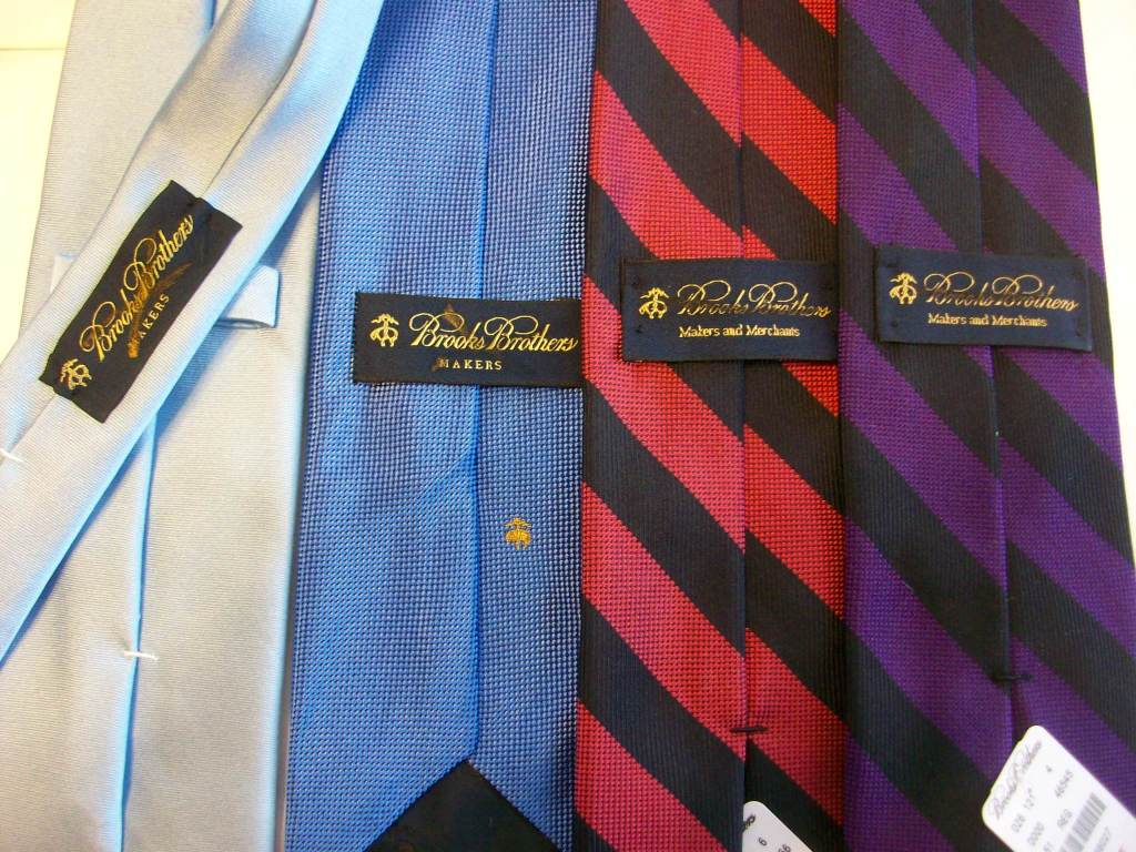 cbf6322558d7 Golden Fleece 4 Inch Silk Ties. $35. Green Stripe Yellow Stripe Lavender  Stripe Solid Pink Seven Fold