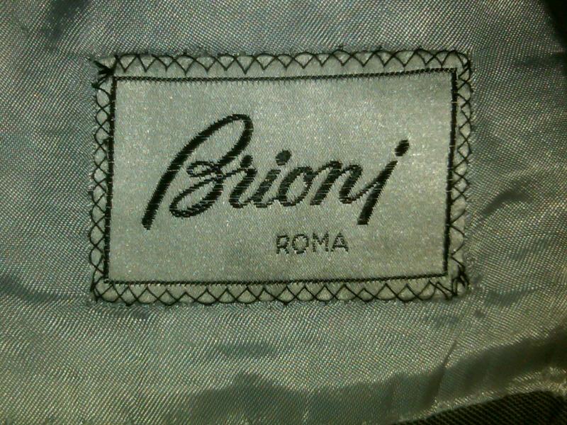 Brioni Label