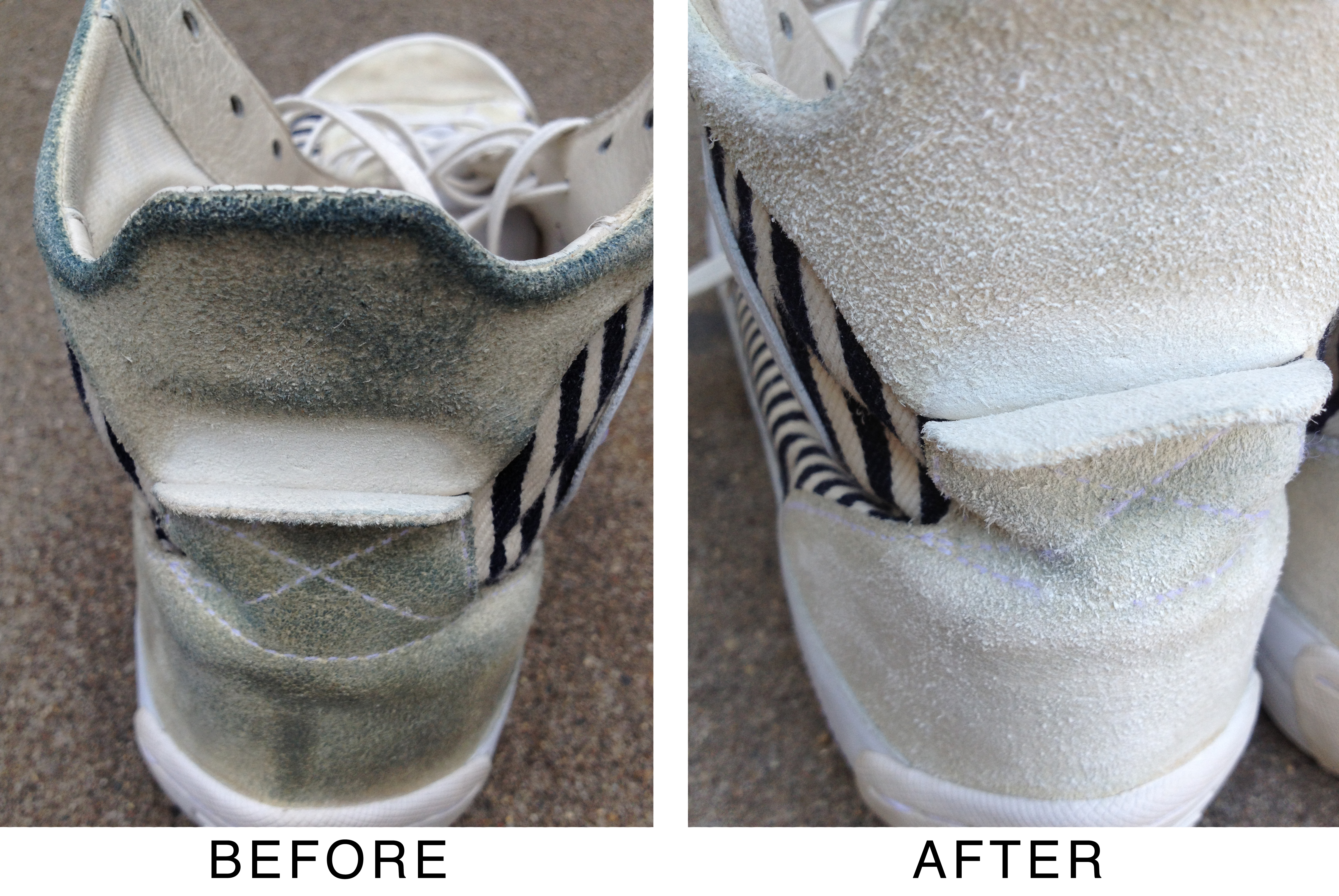 How To Bleach Suede Shoes White