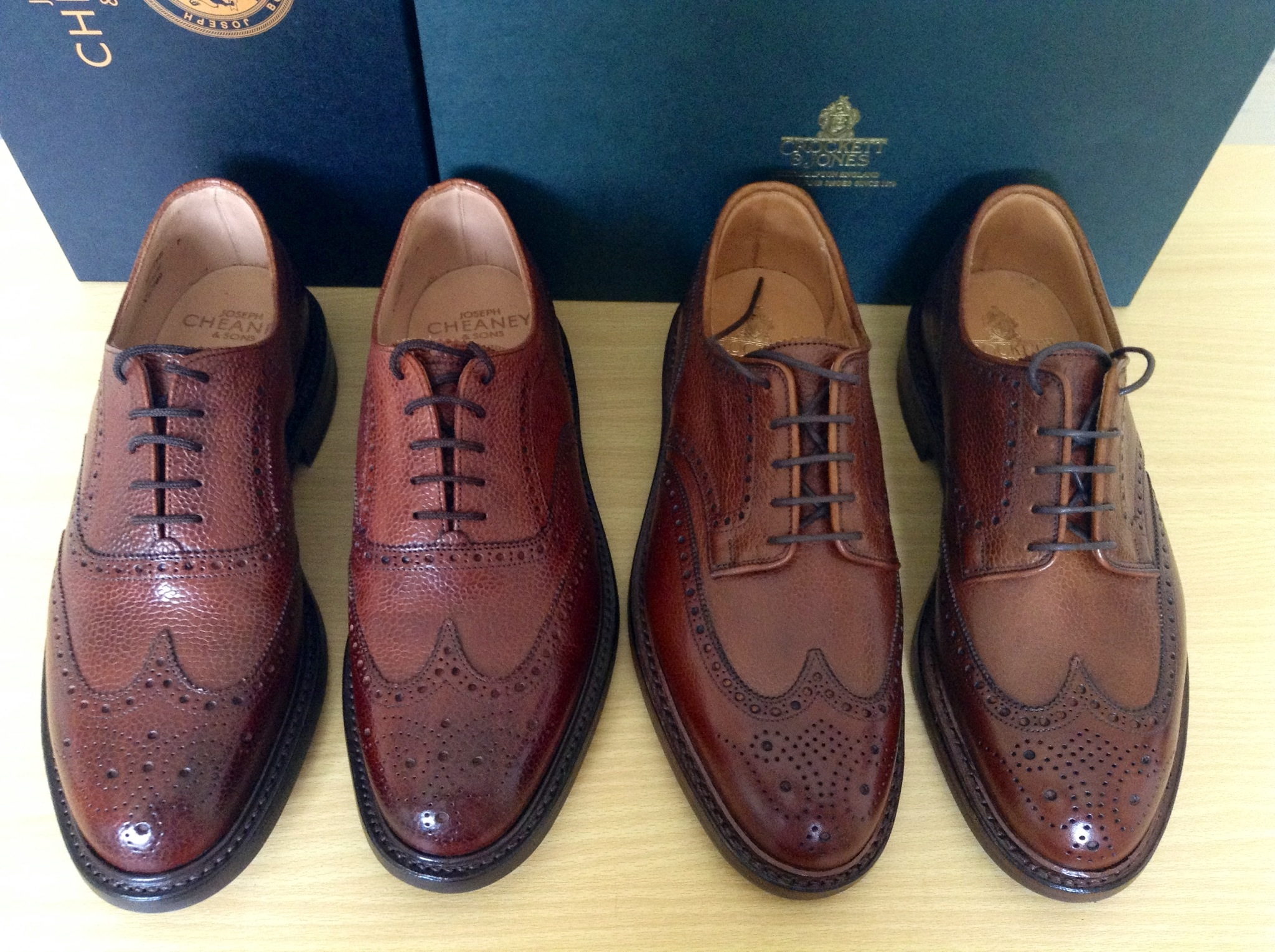 new arrivals really cheap purchase cheap Cheaney vs Crockett & Jones | Page 3 | Styleforum