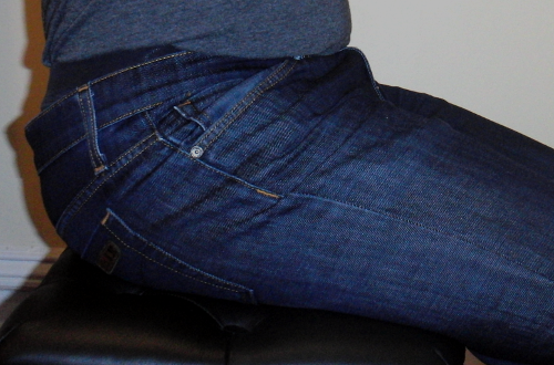 Pants uncomfortable when sitting pinch waist for Shirt tucked in underpants