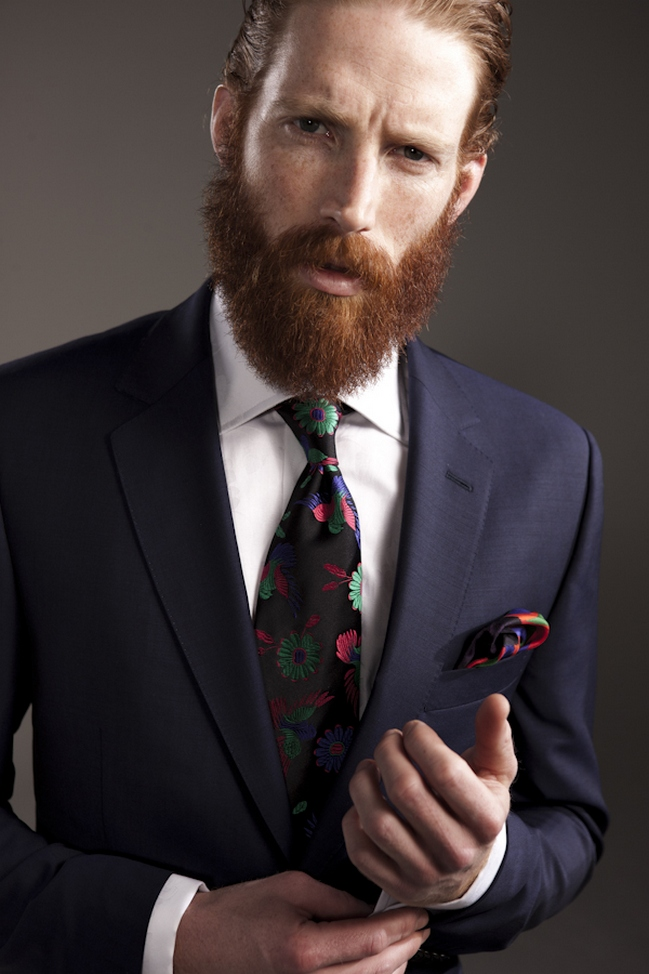 Pulling Off That Suit With Long Hair And A Beard Styleforum