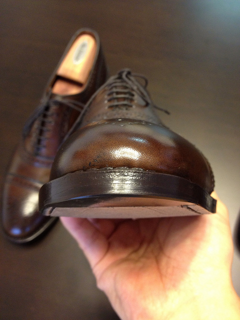 Have A Cobbler Put Them On Leather Soled Shoes
