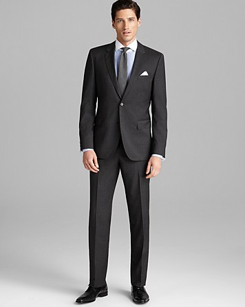 What pants to wear with dark grey/charcoal suit.