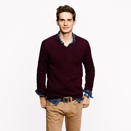 Sweater Thread Is The Key To A V Neck Sweater Just A Shirt Collar